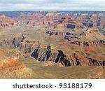 grand canyon in arizona viewed...