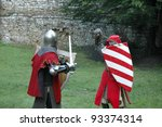 Duel Between Two Knights