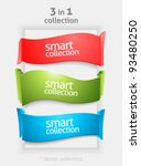ribbon and banner collection.... | Shutterstock .eps vector #93480250