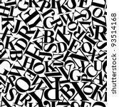 Continuous Letters Pattern ...