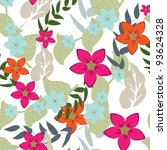 floral background | Shutterstock . vector #93624328