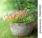 cottage garden | Shutterstock . vector #93644302