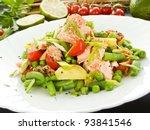 Salad With Salmon  Potato And...