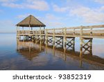 Public Gazebo And Dock With...