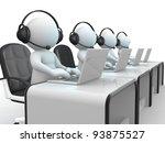 3d people   human character  ... | Shutterstock . vector #93875527