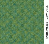 Seamless Green   Teal Damask...