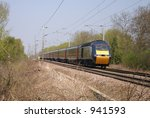 High Speed Train  Intercity 125