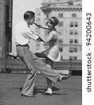 shall we dance | Shutterstock . vector #94200643
