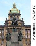 St. Wenceslas Statue On A...