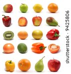 set of different bright tasty... | Shutterstock . vector #9425806