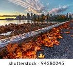 vancouver downtown fallen... | Shutterstock . vector #94280245
