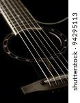 classical guitar closeup  ... | Shutterstock . vector #94295113