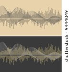 vector music wave  vector | Shutterstock .eps vector #9444049