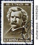 romania   circa 1960  stamp... | Shutterstock . vector #94590343
