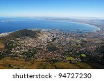 aerial view of capetown and... | Shutterstock . vector #94727230