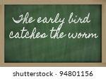 handwriting blackboard writings ... | Shutterstock . vector #94801156
