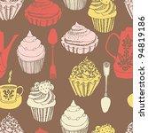 cake seamless background | Shutterstock .eps vector #94819186