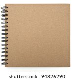 recycled paper notebook front... | Shutterstock . vector #94826290
