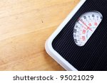 analog weight scale isolated | Shutterstock . vector #95021029