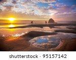 Ocean And Coastal Landscapes...