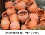 Ceramic Pots And Utensils...