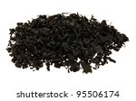 One type of dried seaweed commonly used for salads and soups. - stock photo