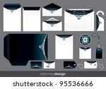 stationery green   Shutterstock .eps vector #95536666