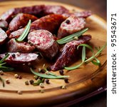 Smoked Sausage With Rosemary...