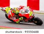 Постер, плакат: Valentino Rossi of Ducati