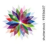 abstract flower | Shutterstock .eps vector #95556637