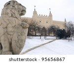 Royal Castle In Lublin. Winter.