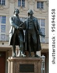 Goethe-Schiller-Memorial (Weimar) - stock photo