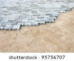 Brick Block In Construction Fo...