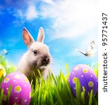 Art Little Easter Bunny And...