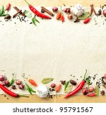 potato with spice | Shutterstock . vector #95791567