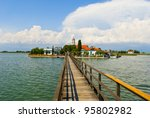 Port Lagos area at Thrace, Greece - stock photo