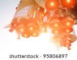 spaceship in action | Shutterstock . vector #95806897
