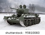 Old Russian Tank Since World...