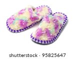 pair of colorful slippers... | Shutterstock . vector #95825647