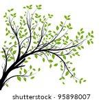 vector   decorative branch...   Shutterstock .eps vector #95898007