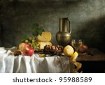Classical Still Life With Frui...