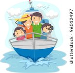 illustration of a family...   Shutterstock .eps vector #96012497