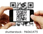 Scanning Qr Code With Mobile...