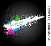illustration of abstract... | Shutterstock .eps vector #96125237