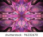 Pink And Purple Kaleidoscope...