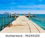 pier and nobody | Shutterstock . vector #96244103