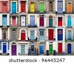 A Photo Collage Of 32 Colourfu...