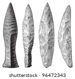 Stone Age Tools Collection  ...