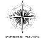 compass | Shutterstock .eps vector #96509548