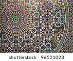 Geometric Mosaic Detail